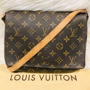 Authentic Louis Vuitton Musette Tango #3.1Q